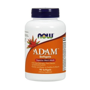 Adam Men's Multiple Vitamin 90 Softgels (Now Foods)