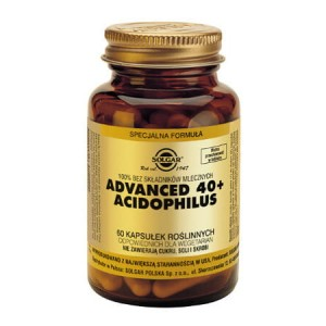 Advanced 40+ Acidophilus 60 kaps. (Solgar)