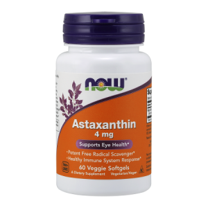 Astaksantyna 4 mg/ 60 Softgel Now Foods