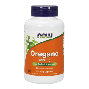 Oregano 450 mg/100 kaps. (Now Foods)