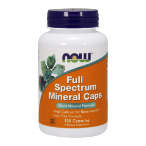 Full Spectrum Mineral Caps 120 kaps. (Now Foods)