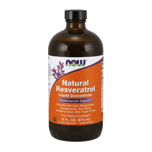 Natural Resveratrol 473 ml (Now Foods) / termin ważności 05.2019