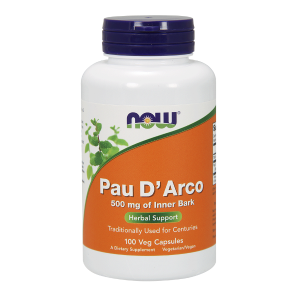 Pau DArco (Lapacho) 500 mg/100 kaps. (Now Foods)