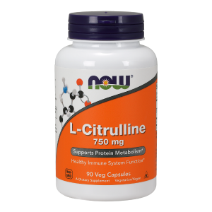 L-Citrulline 750 mg/90 kaps. (Now Foods)