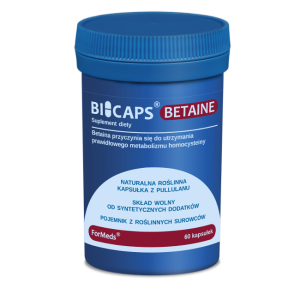 BICAPS BETAINE 60 kaps. (Formeds) # KUPON RABATOWY