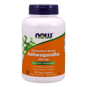 Ashwagandha ext. 450 mg/180 kaps. (Now Foods)