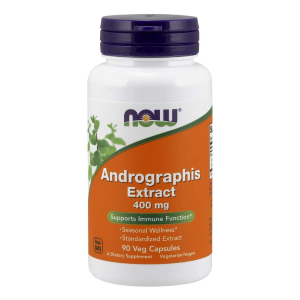 Andrographis Extract 400 mg/90 kaps. (Now Foods)