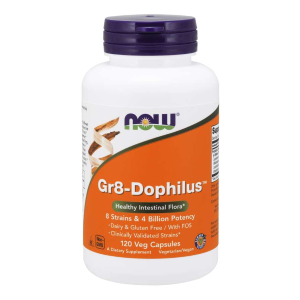 Gr8-Dophilus 120 kaps. (Now Foods)