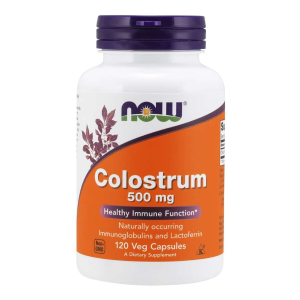 Colostrum 500 mg/120 kaps. (Now Foods)