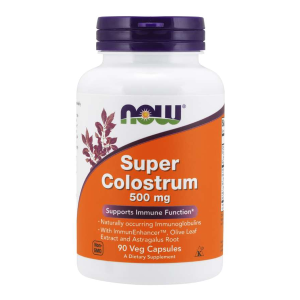 Super Colostrum 500 mg/90 kaps. (Now Foods)