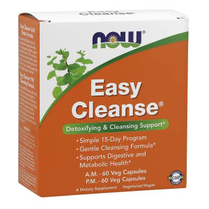 Easy Cleanse® A.M. - P.M. (Now Foods) - program detoksykacji organizmu