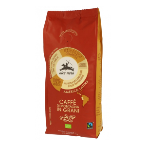 Kawa 100% Arabica In Grani FT BIO 500 g ziarnista (Alce Nero)