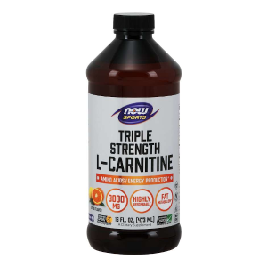 L-Carnitine Liquid 473 ml.triple strength (Now Foods)