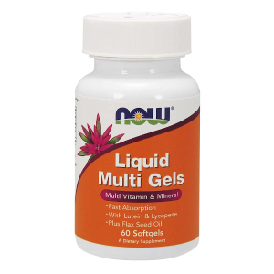 Liquid Multi Gels 60 Softgels (Now Foods)