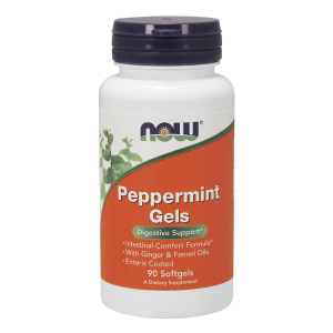 Peppermint Gels 90 Softgels (Now Foods)
