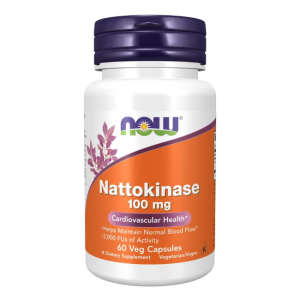 Nattokinase 100 mg/60 vcaps. (Now Foods)
