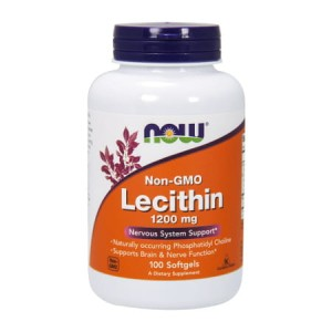 Lecytyna 1200 mg/100 Softgels (Now Foods)