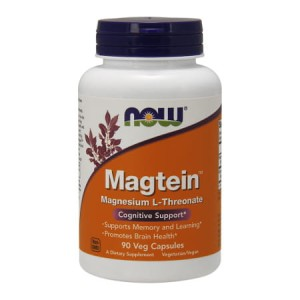Magtein L-treonian magnezu 90 kaps. (Now Foods)