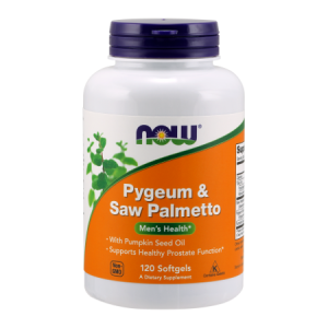 Pygeum & Saw Palmetto 120 kaps.