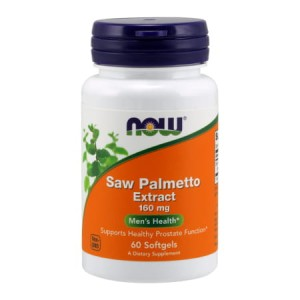 Saw Palmetto Extract 160 mg/60 kaps. Now Foods