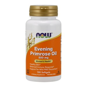 Evening Primrose Oil 500 mg/100 Softgels