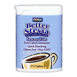 Better Stevia Instant Tabs 175 tabletek (Now Foods)