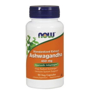 Ashwagandha ext. 450 mg/90 kaps. Now Foods