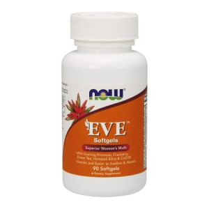 Eve Women's Multiple Vitamin 90 Softgels (Now Foods)