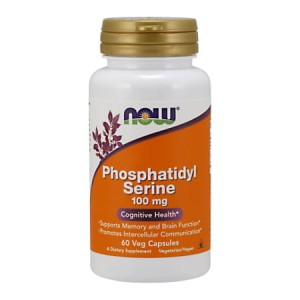 Phosphatidyl Serine 100 mg/60 kaps. Now Foods