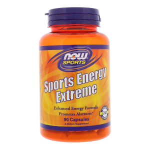 Energy Extreme 90 kaps. (Now Foods) # data 31.08.2020