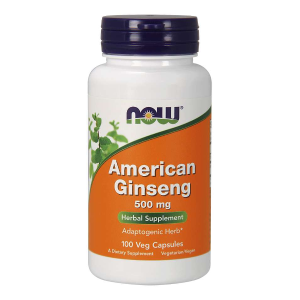 American Ginseng 500 mg/100 kaps. (Now Foods)