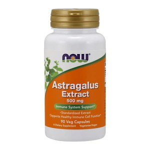 Astragalus Extract 500 mg/90 kaps. (Now Foods)