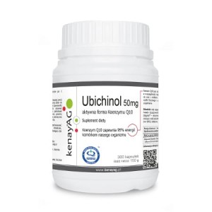 Ubichinol 50 mg/300 kaps. (Kenay)