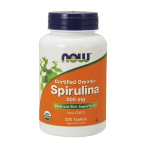 Spirulina Organic 500 mg/200 Tablets