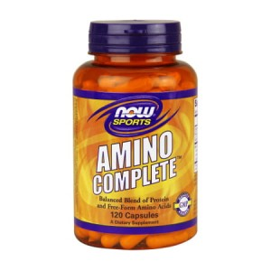 Amino Complete 120 kaps. (Now Foods)