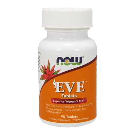 Now Foods Eve Women's Multiple Vitamin 90 Tablets