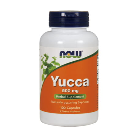 Now Foods Yucca 500 mg/100 Capsules