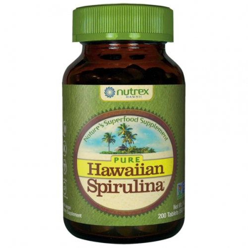 Hawaiian Spirulina 500 mg/200 tabl.