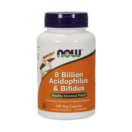 8 Billion Acidophilus & Bifidus - 120 Capsules