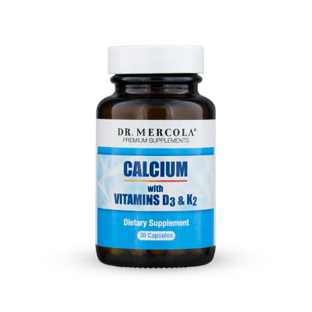 Calcium with Vitamins D3 & K2