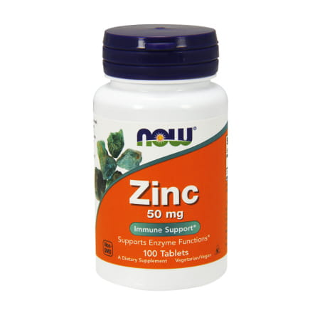 Now Foods Zinc 50 mg/ 100 tabl.